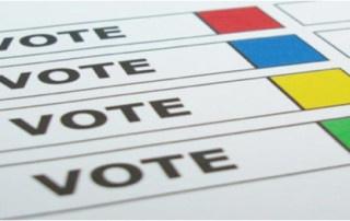 Vote - Ballot Image